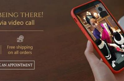 video call shopping in jewellery